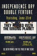 Independence Day Double Feature