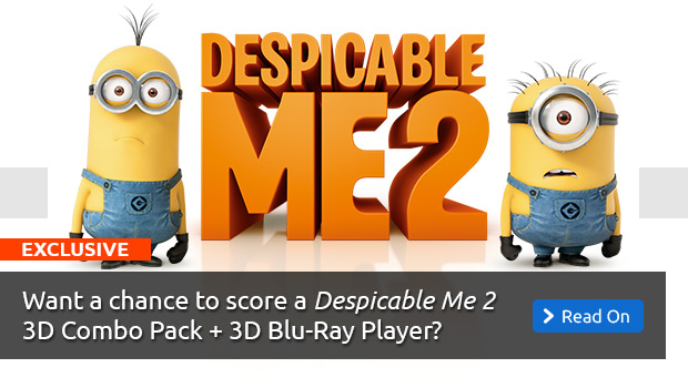 Despicable Me 2 DVD Giveaway