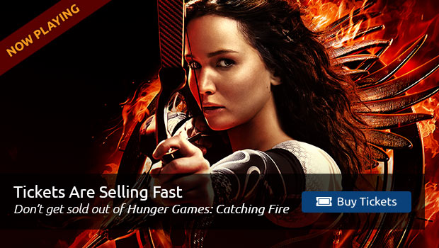 Hunger Games: Catching Fire Tickets