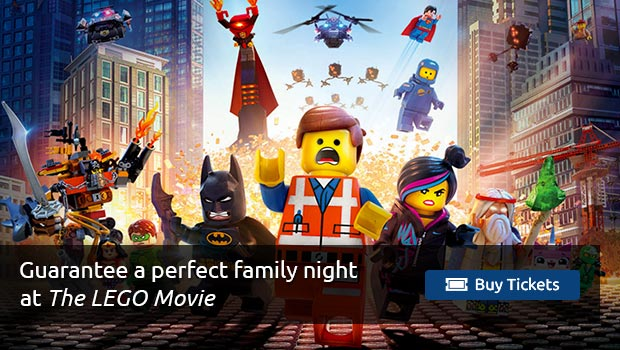 The Lego Movie Tickets