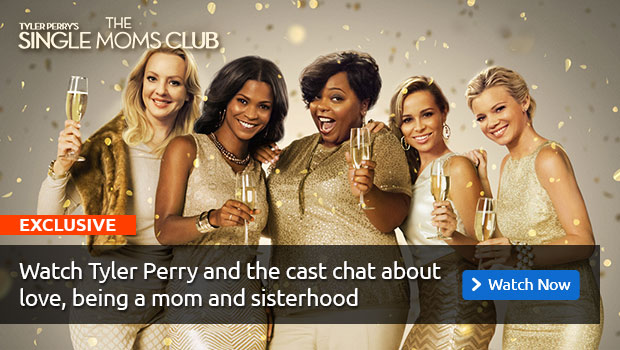 Tyler Perry and Single Moms Club Fan Chat