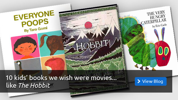 10 Kids' Books We Wish Were Movies