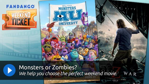 Weekend Ticket Video - Monsters or Zombies