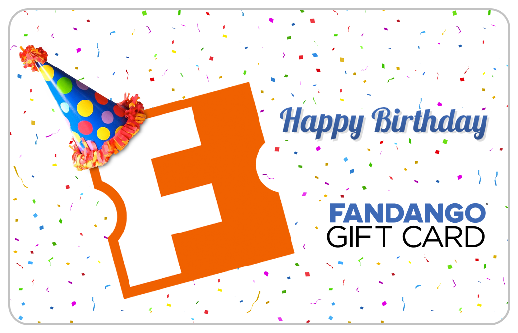 Birthday Movie Gift Card