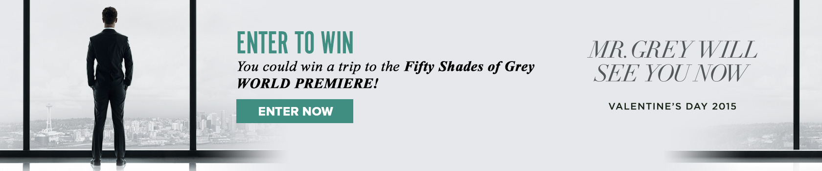 50 Shades of Grey Movie Sweepstakes