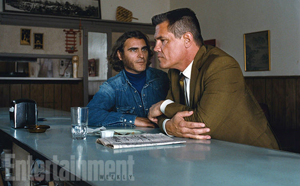 Josh Brolin and Joaquin Phoenix