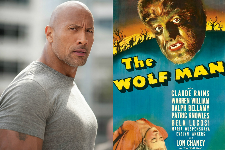 Dwayne Johnson / The Wolf Man