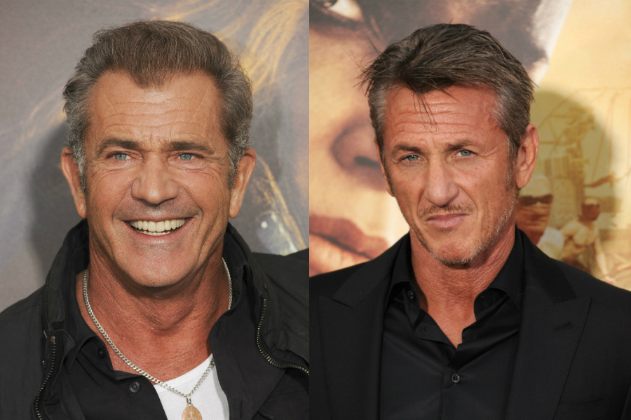 Mel Gibson / Sean Penn