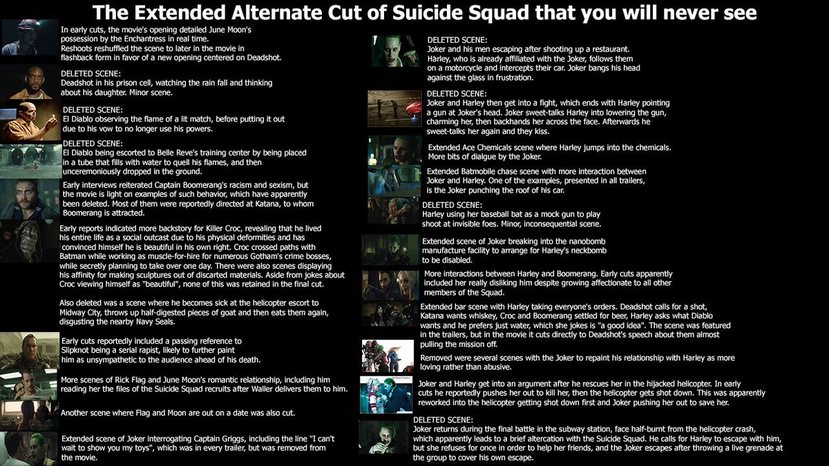 Suicide Squad' Deleted Scenes and Easter Eggs Flesh Out