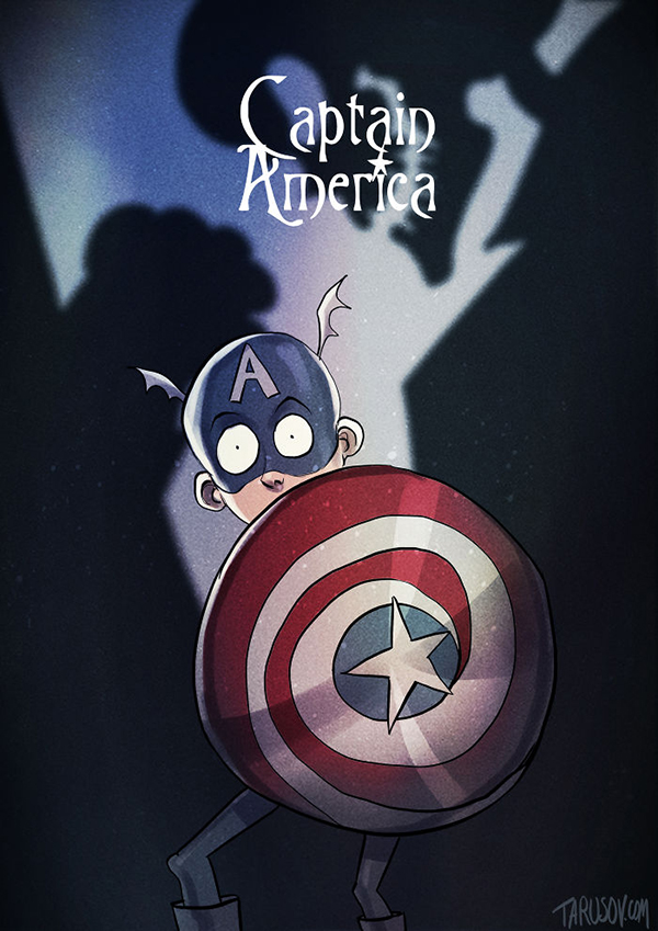 See What It'd Look Like if Tim Burton Made Animated Superhero Movies | Movie News | Movies.com