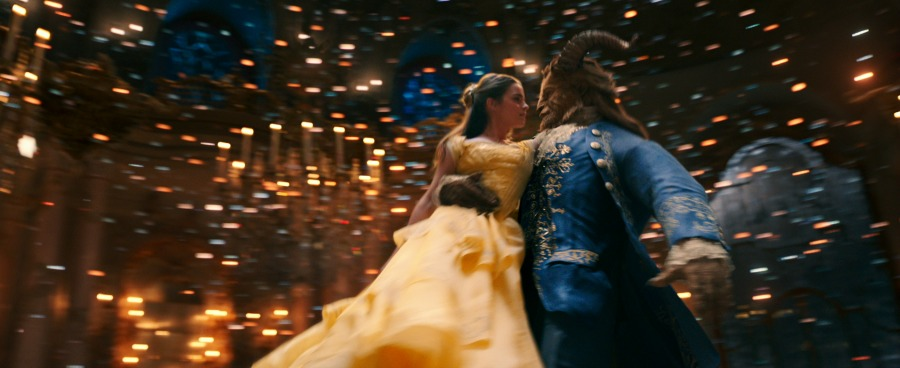 What the 'Beauty and the Beast' Characters Look Like in Live Action vs. Animation