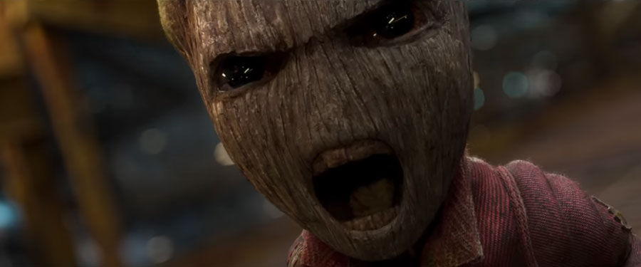 Baby Groot Ravager Suit