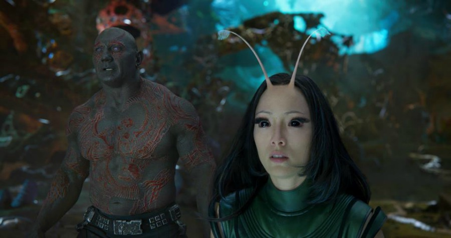 Guardians of the Galaxy Vol. 2 Dave Bautista Pom Klementieff Drax Mantis
