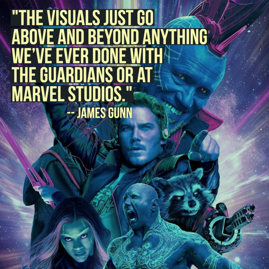 Galaxy Quotes Exclusive Interview 'guardians Of The Galaxy Vol2' Director
