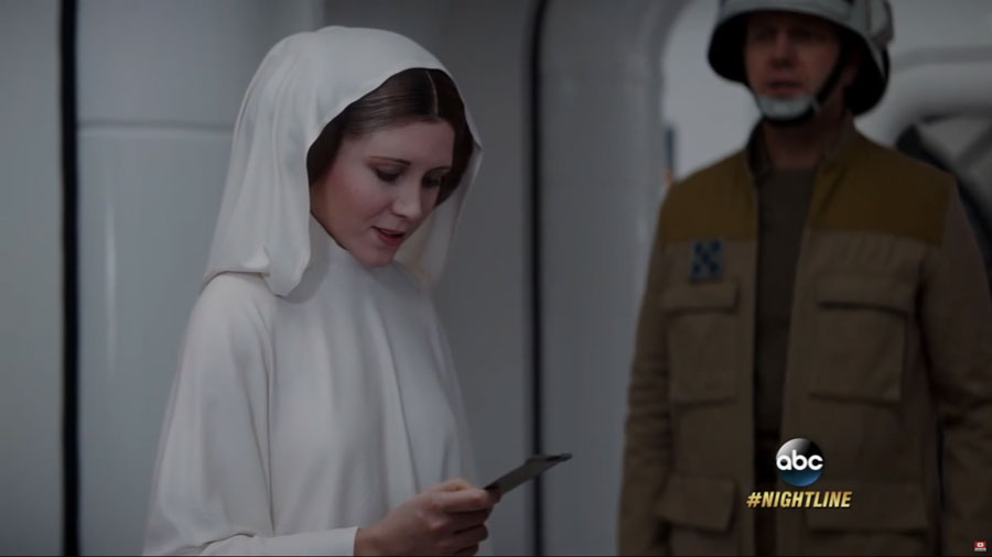 'Rogue One' Director Gareth Edwards Explains Why Carrie Fisher Didn't Believe Her Own Cameo