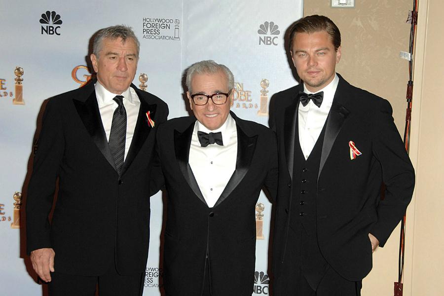Robert De Niro, Martin Scorsese, Leonard DiCaprio