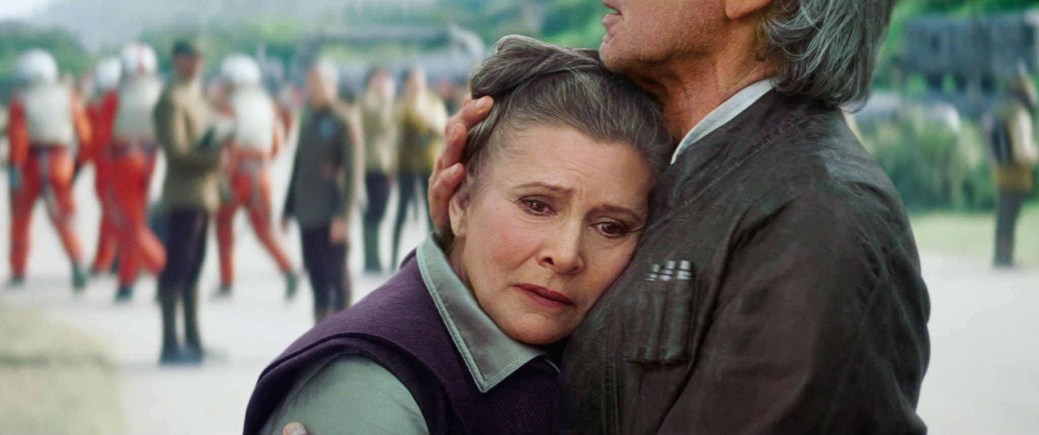 Carrie Fisher General Leia Harrison Ford Han Solo Star Wars: The Force Awakens