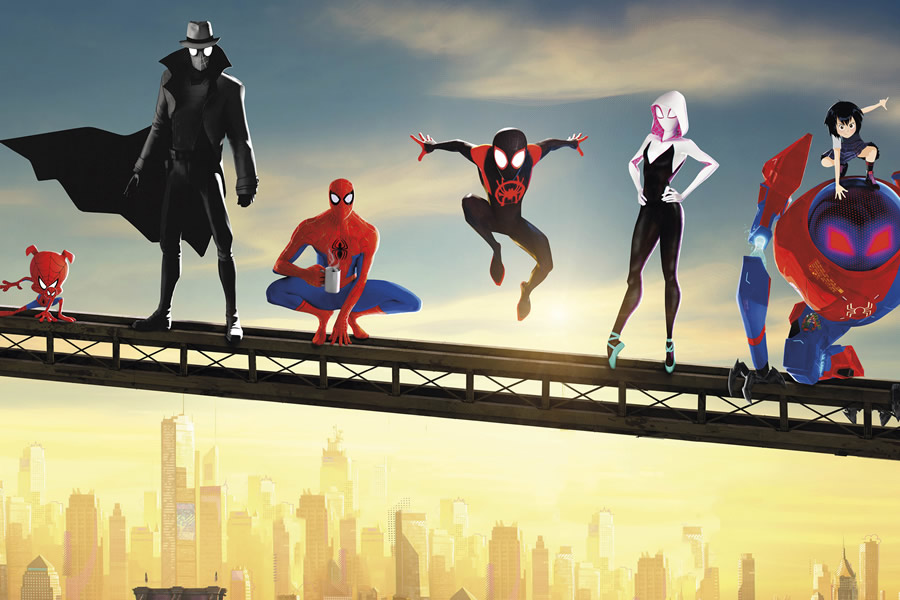 Comics On Film Spider Man Into The Spider Verse Weaves An