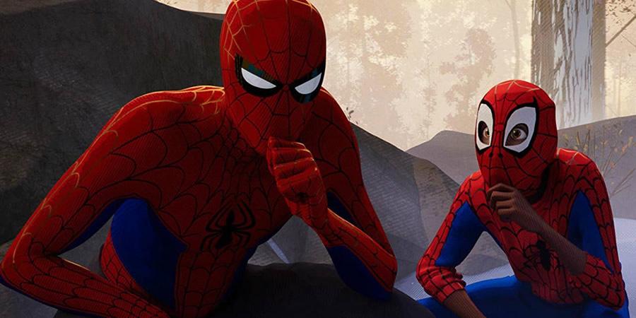 Kleurplaten Spiderman 4.Comics On Film Spider Man Into The Spider Verse Weaves An