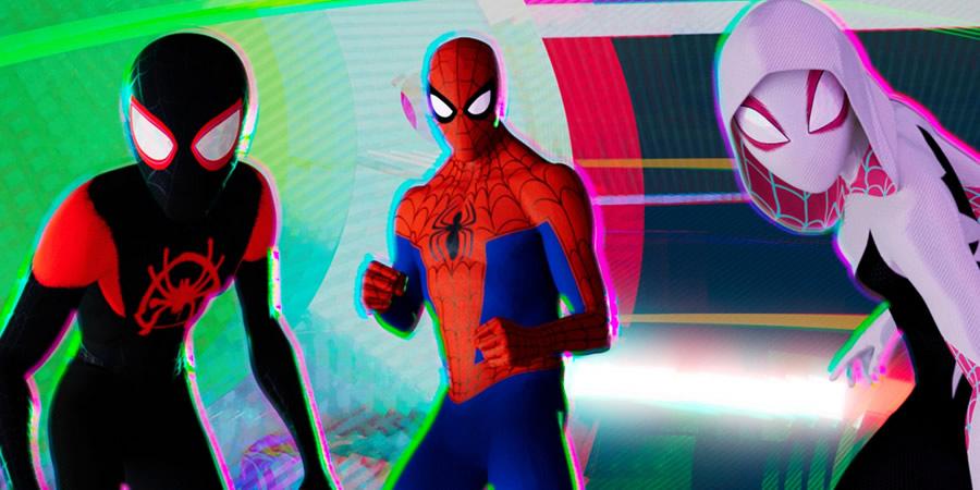 Kleurplaten Spiderman 3.Comics On Film Spider Man Into The Spider Verse Weaves An