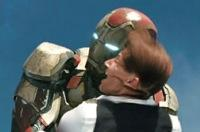 'Iron Man 3' One Big Scene: Uh, Mr. President? There's a Hole in Your Plane