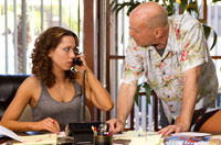 Trailer: Bruce Willis, Rebecca Hall Go Gambling in 'Lay the Favorite'