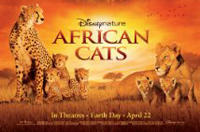 Celebrate Earth Day with Disney's 'African Cats' and 'Chimpanzee'