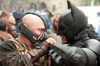 'The Dark Knight Rises' Set Visit: We Watch Tom Hardy's Bane Blow Up a Football Field