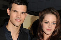 LAFF Sighting: 'Twilight' Stars Kristen Stewart and Taylor Lautner Support Chris Weitz's Latest Film 'A Better Life'