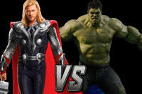 Avengers Showdown: Thor vs. Hulk – Tell Us Who Wins and You Could Win Fandango Bucks!
