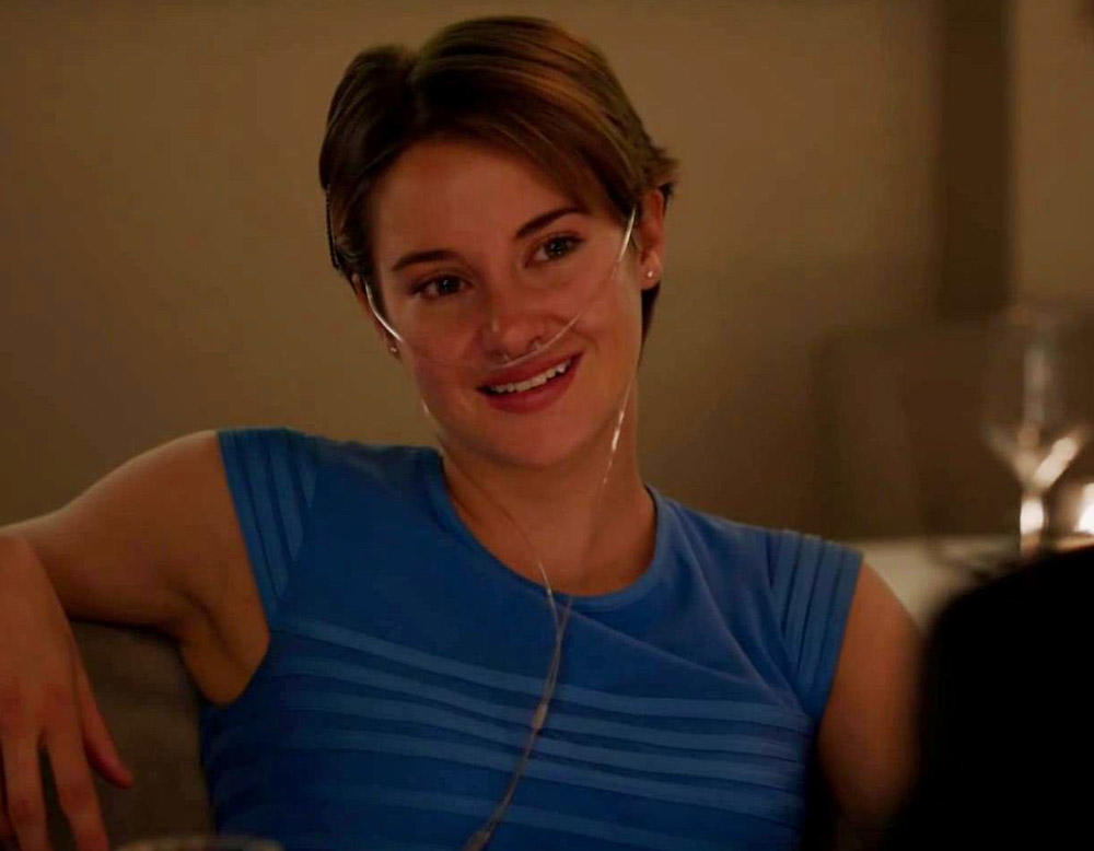 Shailene Woodley in The Fault in Our Stars