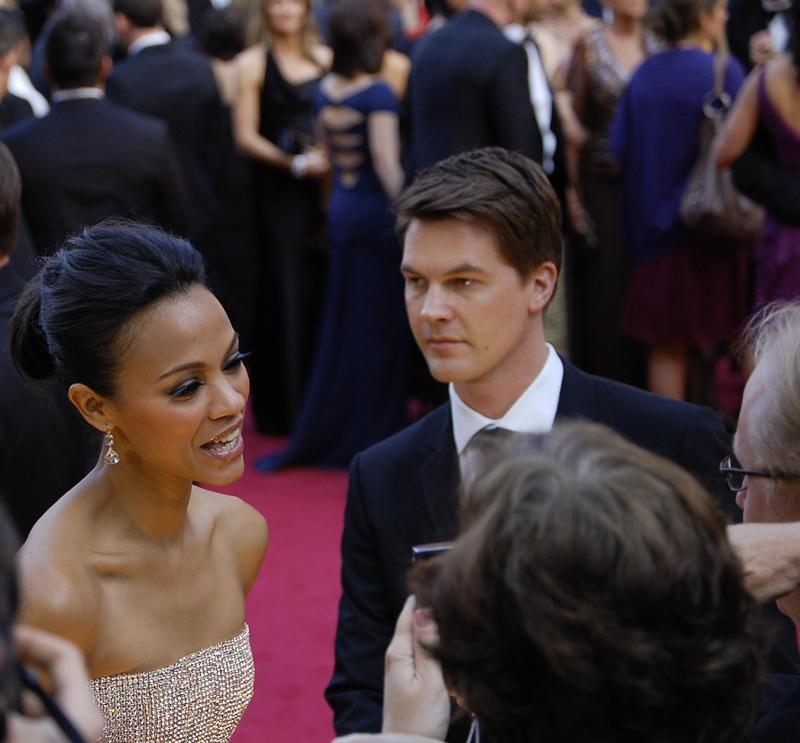 Rose Uniacke Transforms Screenwriter Peter Morgan S: 2010 Oscars Red Carpet