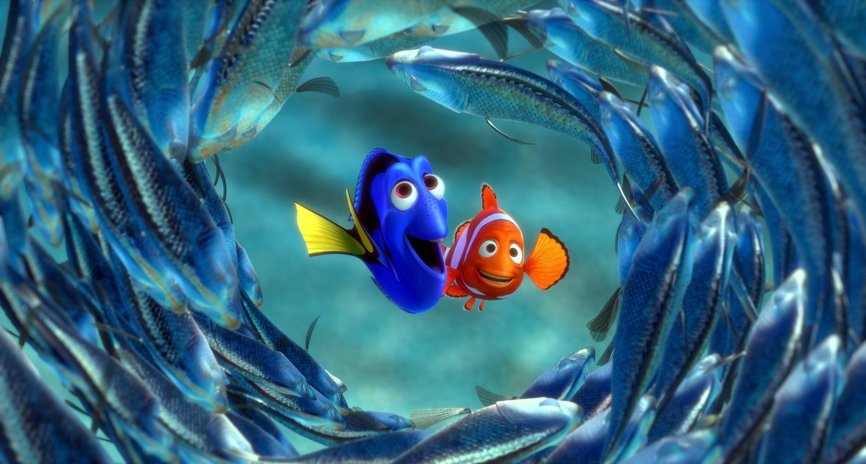 Top 10 Fish Films 976 on Finding Nemo