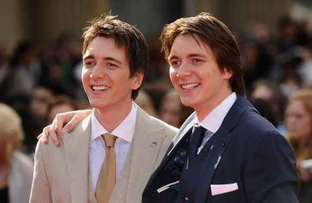 James And Oliver Phelps Young Harry Potter's Hotties...