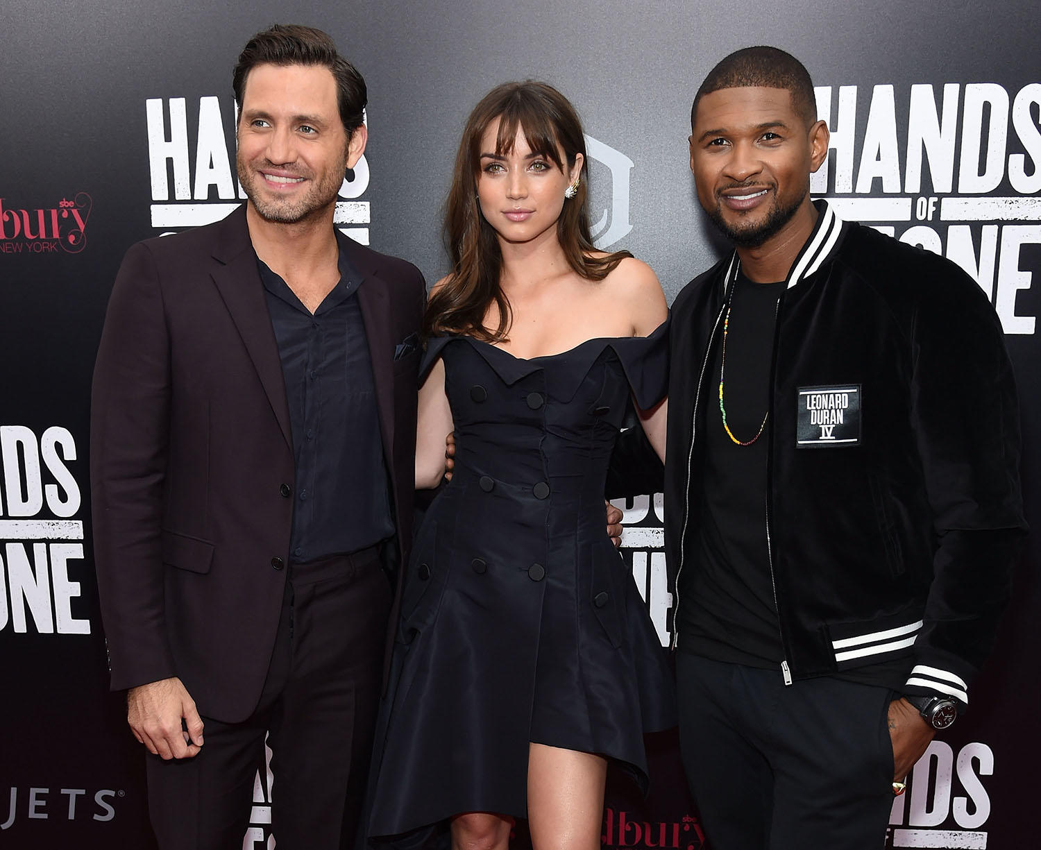 Edgar Ramirez, Ana de Armas and Usher