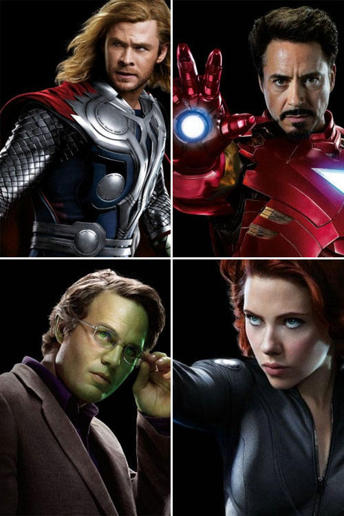 The Avengers - Character Guide