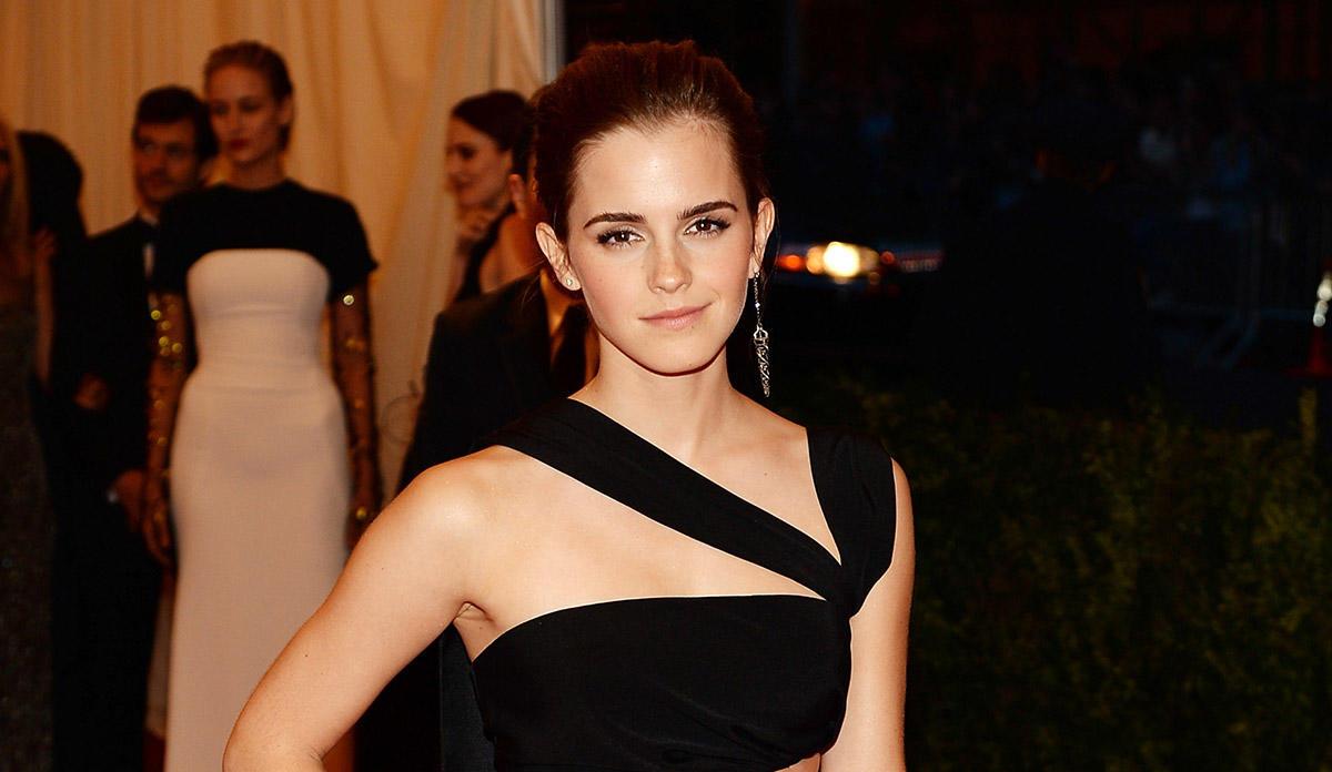 Emma Watson is Hermione in Harry Potter