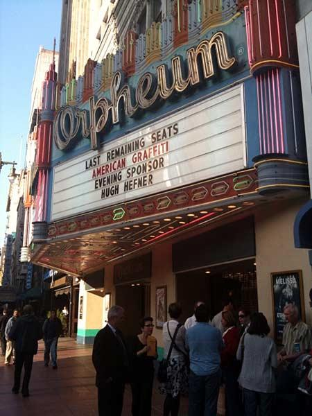 Day 34: 'American Graffiti' at the Orpheum Theater