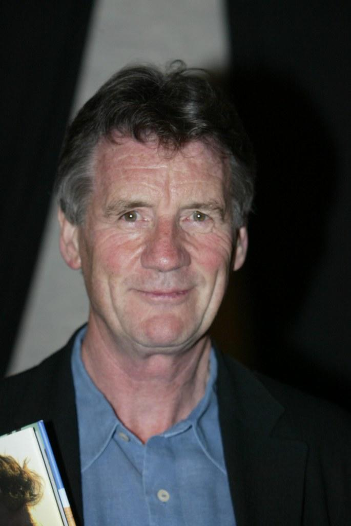 Michael Palin at the book signing of