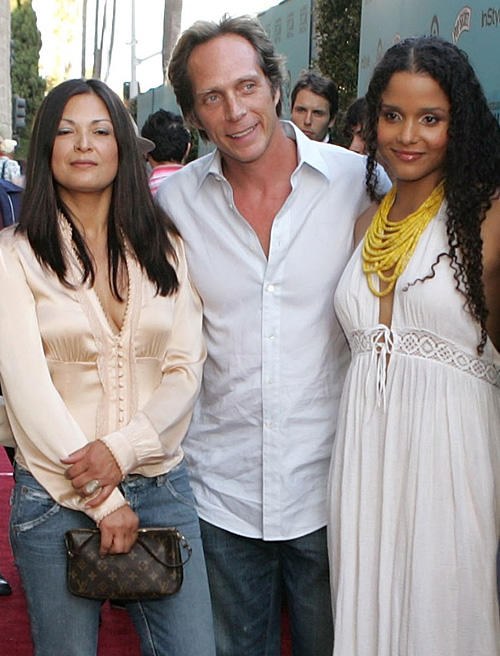 Elpidia Carrillo, William Fichtner and Sydeny Tamiia Poitier at the California premiere of