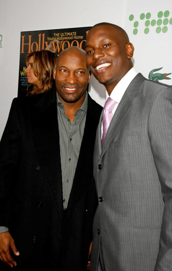 John Singleton and Tyrese Gibson at the Hollywood Life Magazine's 9th Annual Young Hollywood Awards.
