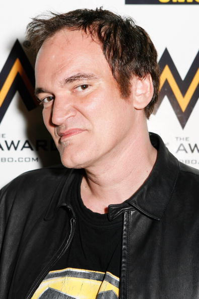 Quentin Tarantino at the MOBO Awards 2007.