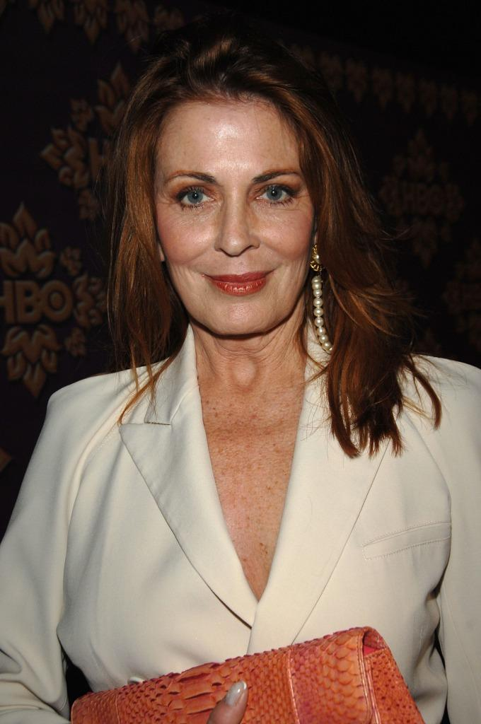 Joanna Cassidy at The HBO Emmy after party at the Pacific Design Center.