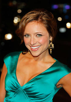 Christine Lakin at the Hollywood premiere for