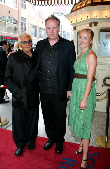 Louis Negin, Guy Maddin and Maya Lawson at the screening of