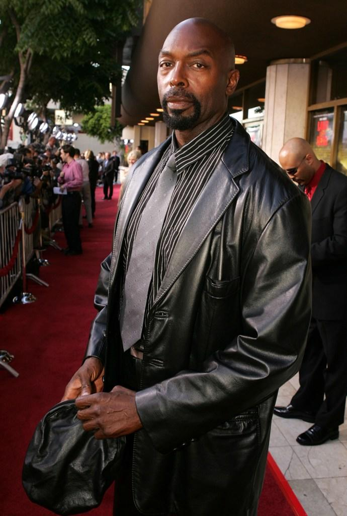 Eugene Clark at the premiere of