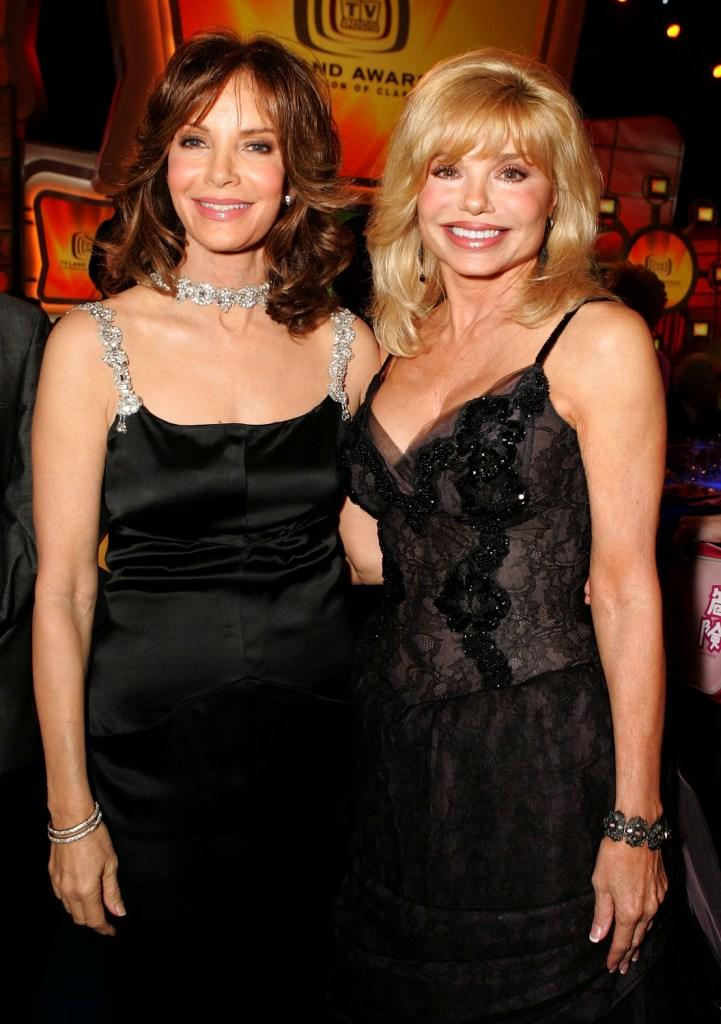Loni Anderson and Jaclyn Smith at the 2005 TV Land Awards.