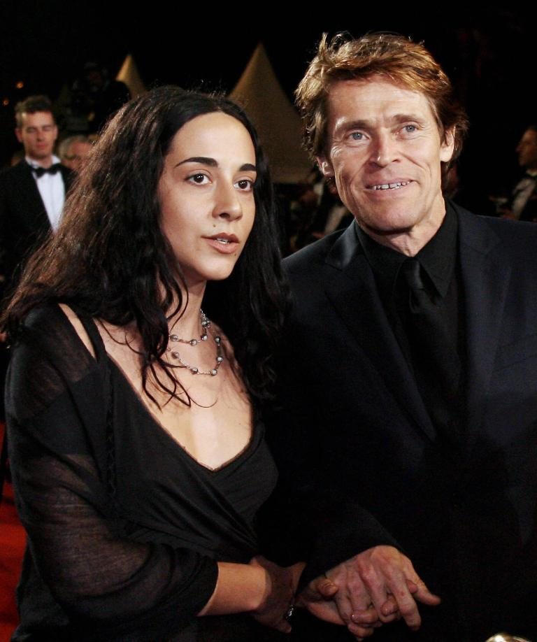 Los Angeles, USA. 15th February 2017. Actor Willem Dafoe ...  Willem Dafoe And Wife