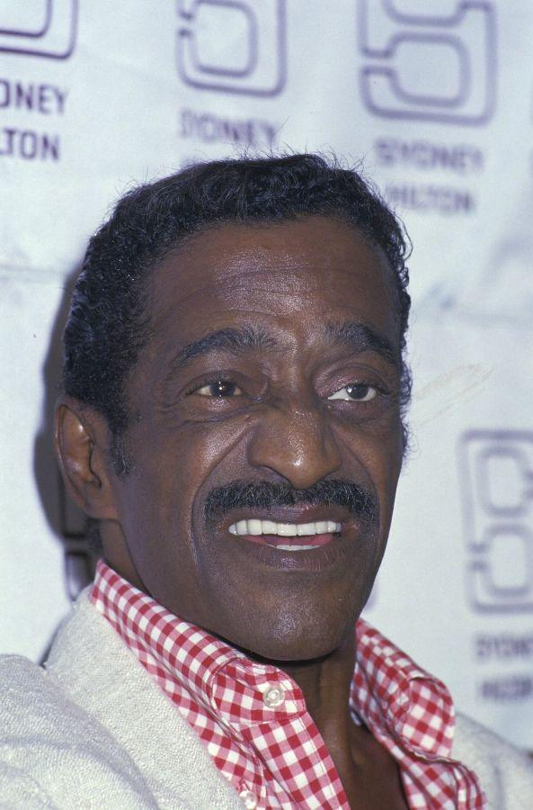 An Undated File Photo of Sammy Davis, Jr.
