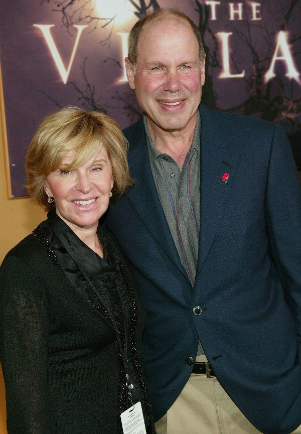 Jane Breckenridge and Michael Eisner at the New York premiere of